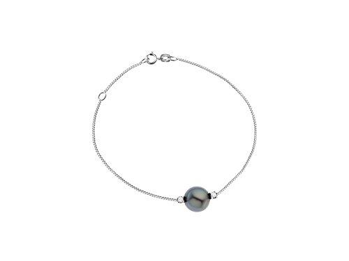 & You - Bracelet Chaîne - Argent 925 - Diamant 0.06 cts - 18 cm - DY-BR36