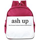 WLF Girl's And Boy's Children Kid's Backpack Pre School Bags Package Comfortable Ashup Backpacks (Big Smoke Cigar)