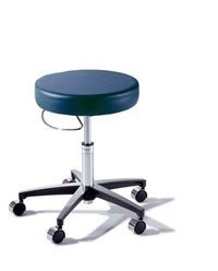276-001-235 Part# 276-001-235 - Stool Exam Air Lift Classic Blueberry 5-Leg Casters Ea By Midmark Corporation by The Midmark Corporation Incorporated