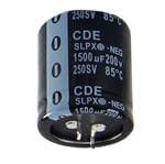 CORNELL DUBILIER SLPX682M063E7P3 ALUMINUM ELECTROLYTIC CAPACITOR 6800UF, 63V, 20%, SNAP-IN (1 piece)