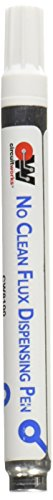 Chemtronics CircuitWorks CW8100 No Clean Flux Dispensing Pen, 9ml