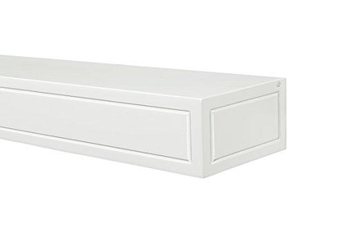 Pearl Mantels 612-60 Sarah Mantel Shelf, 60-Inch, White Paint