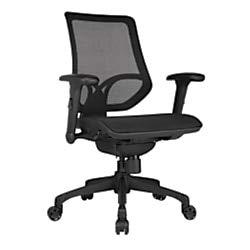 WorkPro 1000 Mesh Multifunction Ergonomic Mid-Back Task Chair, Black