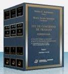 img - for Ley de Contrato de Trabajo. Comentada. 3 tomos book / textbook / text book