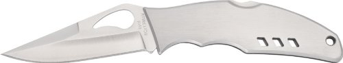 Byrd Flight Stainless Plain Edge Knife, Outdoor Stuffs