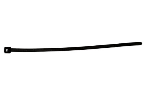 Connect - 30261 Hellermann Black Cable Tie 150mm x 3.5mm T30R Pk 100