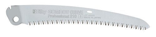 (Silky Saws 718-21 Replacement Blade, Chrome, 210mm)
