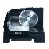 NESCO FS140R BLACK FOOD SLICER STAINLESS STEEL BLADE 150W