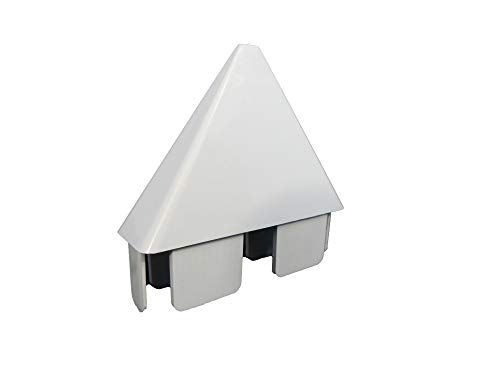 Vinyl PICKET FENCE CAP: POINTED Sharp Sharp 7/8