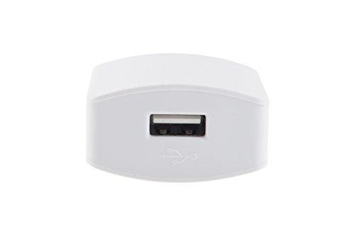 CARICATORE ALIMENTATORE USB CASA CON CAVO DATI IPHONE 5 6 1.5A OZ-048 DR