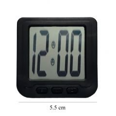 Kreative Store - Car Dashboard Digital Clock, Digital Alarm Clock For Office And Home, Alarm Watch, Table Watch, Stand Watch