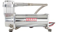 Viair 444C Chrome Single Compressor Air Ride Suspension 44432