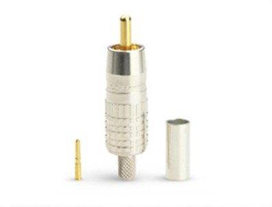 (Canare RCAP-C53 75 ohm RCA Crimp Plug (RCAP-C Series))