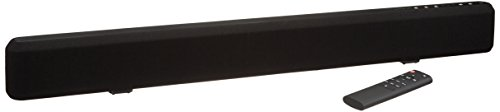 AmazonBasics 2.1 Channel Bluetooth Sound Bar with Built-In Subwoofer (Insignia 2-1 Channel Soundbar With Wireless Subwoofer)