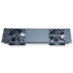 Middle Atlantic 2-Fan Rackmount Panel Anodized Finish (QFP-2) ()