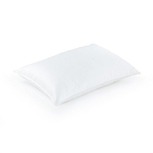 DOWNLITE Hypoallergenic 400 TC Cotton Primaloft Luxury Down Alternative Twin Pack Bed Pillows - Medium Density (King)