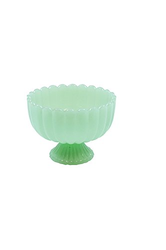 Tablecraft Jadeite Glass Collection(TM) Sundae Dish, 8 oz Tablecraft Green