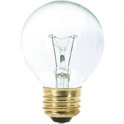 Replacement for 40G19 40W G19 Globe Clear 125V Light Bulb 25 ()