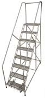 product image for Cotterman 1208R3232A3E12B4C1P6 - Rolling Ladder Steel 110In. H. Gray