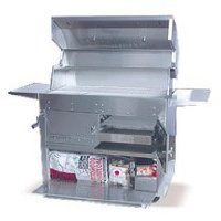 - Hasty-Bake 290 Hastings Stainless Steel Built in Charcoal Grill