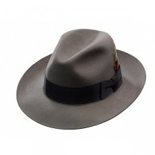 Stetson Temple Fur Felt Fedora Hat (6 3/4, (Fedora Prices)