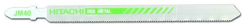 Hitachi 725392 5-1/4-Inch High Speed Steel 24 TPI Jig Saw Bl