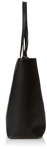 Love Moschino Damen Borsa Soft Nappa Pu Nero Schultertasche, schwarz (Black), 11 x 28 x 38 cm