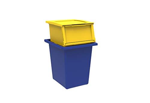 Terry-Ecobin-Set-2-Contenedores-para-Reciclaje-de-Residuos-Azul-y-Amarillo-33x38x38-cm-325x29x37-cm