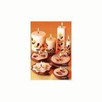 Auroshikha Auroshikha Candles and Incense Square Flower Candle, Tuberose (Square Tuberose)