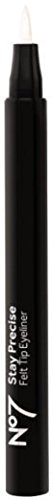 BOOTS No7 Stay Precise Felt Tip Eye Liner Brown/Black by Boots by No7 by No. 7