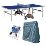 Cheap Kettler Champ 3.0 Outdoor Table Tennis Table with Outdoor Accessory Bundle