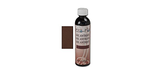 Tandy Leather Eco-Flo Gel Antique 8 oz Dk. Brown 2607-02