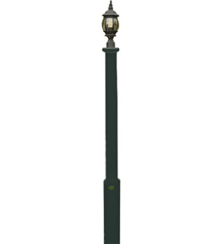 Garden Lamp Post Charleston Green by Highwood