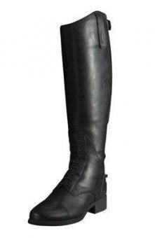 ARIAT Damen Reitstiefel BROMONT Tall H2O Stiefel, schwarz, 3 (36), Höhe:44cm/Wade:33cm