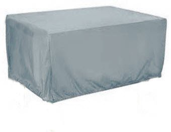 HBCOLLECTION® Housse Haute résistance 500D pour Table Salon de Jardin Gris  (196x114 H72cm)