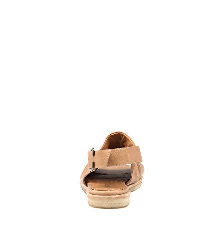 Sandals Sandals Flat Womens Jayce Tan Leather Summer SILENT D nTqIYtwnU
