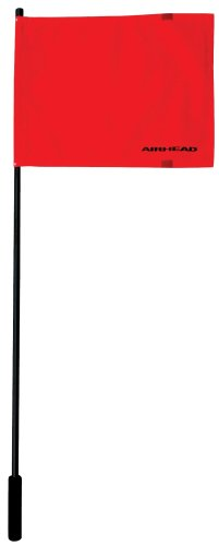 Airhead F-48 Deluxe Water Ski Flag with Aluminum Pole (Water Ski Flag)