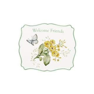 Lenox Butterfly Meadow Welcome Friends Trivet, 0.8 LB, Multi