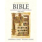 An Introduction to the Bible : A Journey into Three Worlds, Hauer, Christian E., Jr. and Young, William A., 0134713842