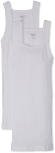 Essential Cotton 2 Pack Square Cut Tank (2xist Undershirt Men)
