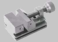 Super Precision Toolmakers Vise, Steel RC 58-62, Square and Parallel on All Surfaces within .0002'', One-Piece Body. 2''x2-1/2''x4''- Krav Precision Tool Corp by Krav Precision Tool Corp