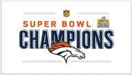 Denver Broncos WinCraft Super Bowl 50 Champions Trophy Collection Locker Room 24'' x 42'' - Nfl Locker Room Denver Broncos
