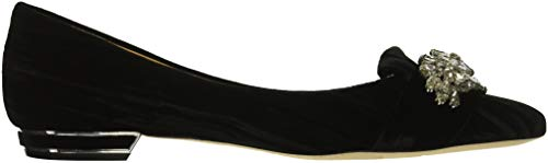 Flat Velvet Black Mischka Loafer Badgley Women's Valeria 7RIPwq