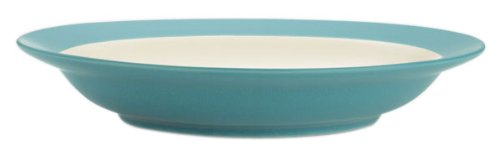 Noritake Colorwave Rim Soup/Pasta Bowl, Turquoise, Set of 4