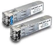 LC Connector for 10 km Transmission MOXA SFP-1GLXLC-T SFP Module with 1 1000BaseLX Port -40 to 85/°C Operating Temperature