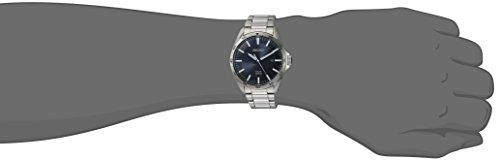 Seiko Men's Sport Watches Japanese-Quartz Stainless-Steel Strap, Silver, 20 (Model: SNE483)