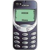 Price comparison product image Nokia 3310 iPhone 5 Case / iPhone 5s Case (Black Plastic)