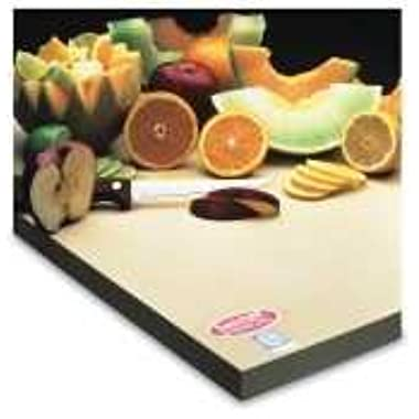 Teknor Apex Sani-Tuff Rubber Cutting Board 15 x 20 x 1/2 inch