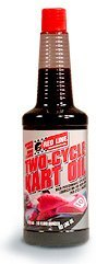Red Line Two-Cycle Kart Oil - 16 oz. (Case 12 Bottles)