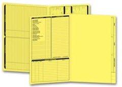 - EGP Legal Size Real Estate Listing Folder Left Panel, 50 Folders, Yellow